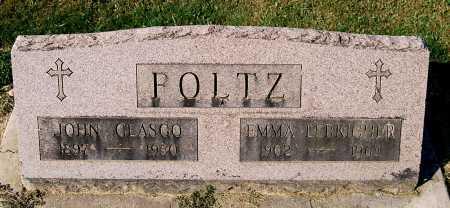 FOLTZ, JOHN GLASGO - Juniata County, Pennsylvania | JOHN GLASGO FOLTZ - Pennsylvania Gravestone Photos