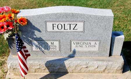 FOLTZ, VIRGINIA A. - Juniata County, Pennsylvania | VIRGINIA A. FOLTZ - Pennsylvania Gravestone Photos