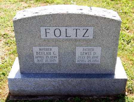 FOLTZ, BEULAH K. - Juniata County, Pennsylvania | BEULAH K. FOLTZ - Pennsylvania Gravestone Photos