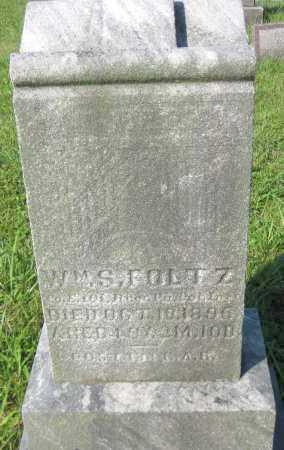 FOLTZ, WILLIAM S. - Juniata County, Pennsylvania | WILLIAM S. FOLTZ - Pennsylvania Gravestone Photos