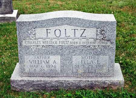FOLTZ, ELLA E. - Juniata County, Pennsylvania | ELLA E. FOLTZ - Pennsylvania Gravestone Photos