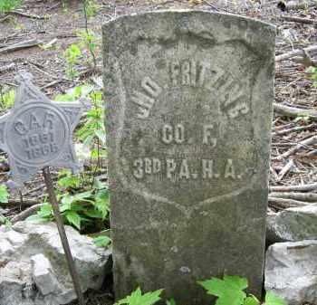 FRITZING, JOHN - Juniata County, Pennsylvania | JOHN FRITZING - Pennsylvania Gravestone Photos