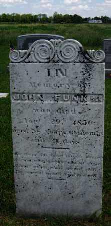 FUNK, JOHN - Juniata County, Pennsylvania   JOHN FUNK - Pennsylvania Gravestone Photos