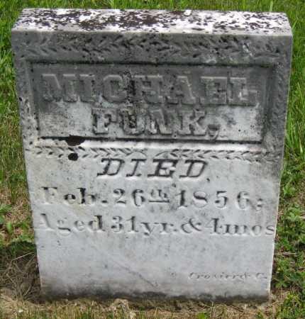 FUNK, MICHAEL - Juniata County, Pennsylvania | MICHAEL FUNK - Pennsylvania Gravestone Photos