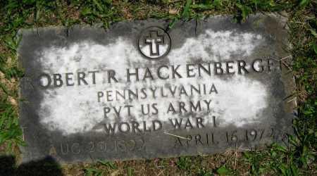 HACKENBERGER, ROBERT RAY - Juniata County, Pennsylvania | ROBERT RAY HACKENBERGER - Pennsylvania Gravestone Photos