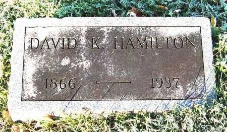 HAMILTON, DAVID K. - Juniata County, Pennsylvania | DAVID K. HAMILTON - Pennsylvania Gravestone Photos