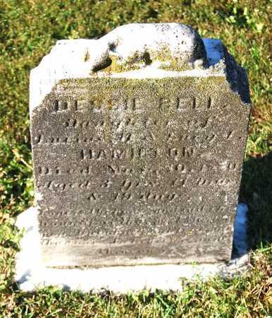 HAMILTON, DESSIE BELL - Juniata County, Pennsylvania | DESSIE BELL HAMILTON - Pennsylvania Gravestone Photos