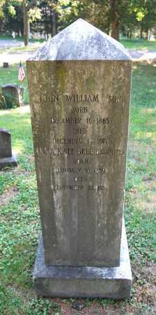 HAMILTON, JOHN WILLIAM - Juniata County, Pennsylvania | JOHN WILLIAM HAMILTON - Pennsylvania Gravestone Photos