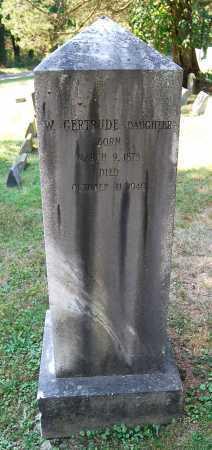 HAMILTON, W. GERTRUDE - Juniata County, Pennsylvania | W. GERTRUDE HAMILTON - Pennsylvania Gravestone Photos