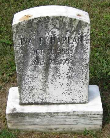 HARLAN, IVA P. - Juniata County, Pennsylvania | IVA P. HARLAN - Pennsylvania Gravestone Photos