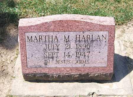 HARLAN, MARTHA M. - Juniata County, Pennsylvania | MARTHA M. HARLAN - Pennsylvania Gravestone Photos