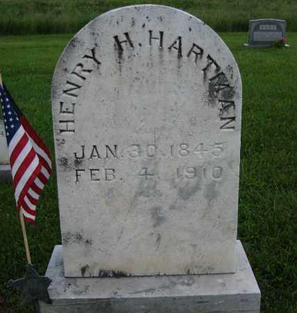 HARTMAN, HENRY H. - Juniata County, Pennsylvania | HENRY H. HARTMAN - Pennsylvania Gravestone Photos