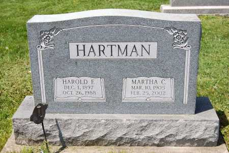 HARTMAN, MARTHA SPRIGGLE - Juniata County, Pennsylvania | MARTHA SPRIGGLE HARTMAN - Pennsylvania Gravestone Photos