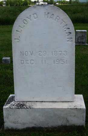 HARTMAN, J. LLOYD - Juniata County, Pennsylvania | J. LLOYD HARTMAN - Pennsylvania Gravestone Photos