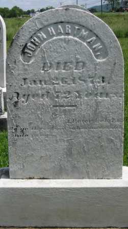 HARTMAN, JOHN - Juniata County, Pennsylvania | JOHN HARTMAN - Pennsylvania Gravestone Photos