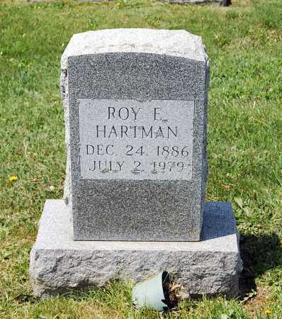 HARTMAN, ROY E. - Juniata County, Pennsylvania | ROY E. HARTMAN - Pennsylvania Gravestone Photos