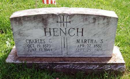 HENCH, CHARLES G. - Juniata County, Pennsylvania | CHARLES G. HENCH - Pennsylvania Gravestone Photos