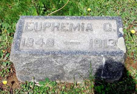 HERTZLER, EUPHEMIA - Juniata County, Pennsylvania   EUPHEMIA HERTZLER - Pennsylvania Gravestone Photos