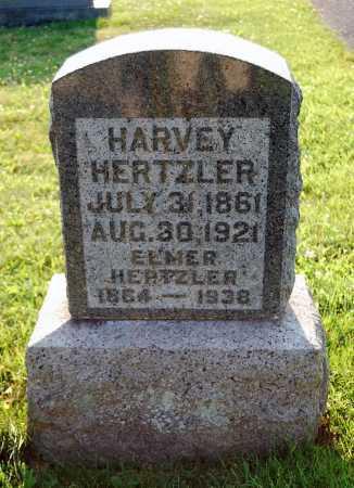 HERTZLER, HARVEY - Juniata County, Pennsylvania   HARVEY HERTZLER - Pennsylvania Gravestone Photos