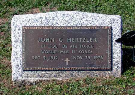 HERTZLER, JOHN GARMAN - Juniata County, Pennsylvania   JOHN GARMAN HERTZLER - Pennsylvania Gravestone Photos