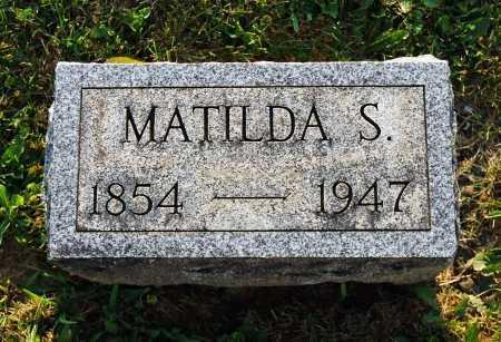 "HERTZLER, MATILDA S. ""TILLIE"" - Juniata County, Pennsylvania | MATILDA S. ""TILLIE"" HERTZLER - Pennsylvania Gravestone Photos"
