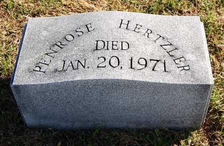 HERTZLER, PENROSE - Juniata County, Pennsylvania | PENROSE HERTZLER - Pennsylvania Gravestone Photos