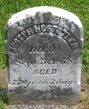 HOSTETLER, JOSEPH - Juniata County, Pennsylvania | JOSEPH HOSTETLER - Pennsylvania Gravestone Photos