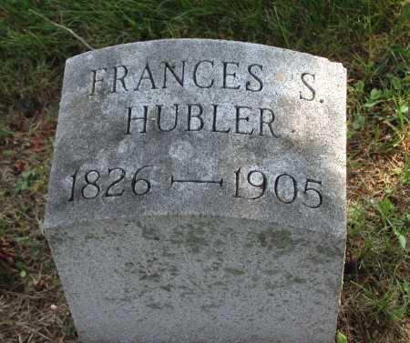 HUBLER, FRANCES S. - Juniata County, Pennsylvania | FRANCES S. HUBLER - Pennsylvania Gravestone Photos