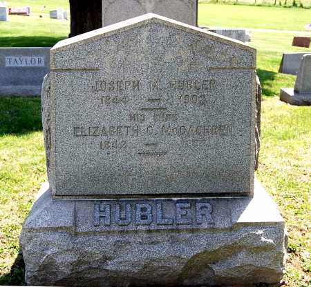MCCAHREN HUBLER, ELIZABETH C. - Juniata County, Pennsylvania | ELIZABETH C. MCCAHREN HUBLER - Pennsylvania Gravestone Photos