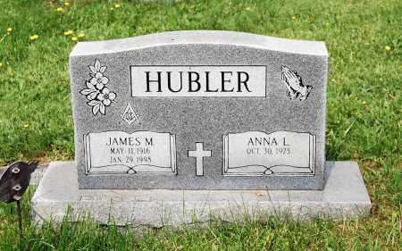 HUBLER, JAMES M. - Juniata County, Pennsylvania | JAMES M. HUBLER - Pennsylvania Gravestone Photos