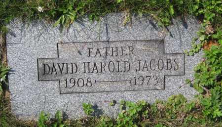 JACOBS, DAVID HAROLD - Juniata County, Pennsylvania | DAVID HAROLD JACOBS - Pennsylvania Gravestone Photos