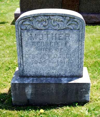 JACOBS, GEORGIE E. - Juniata County, Pennsylvania   GEORGIE E. JACOBS - Pennsylvania Gravestone Photos