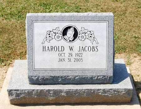 JACOBS, HAROLD W. - Juniata County, Pennsylvania | HAROLD W. JACOBS - Pennsylvania Gravestone Photos