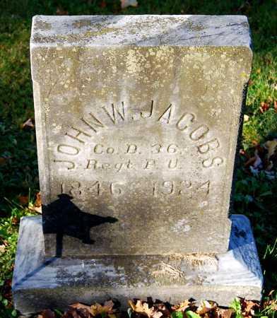 JACOBS, JOHN W. - Juniata County, Pennsylvania | JOHN W. JACOBS - Pennsylvania Gravestone Photos