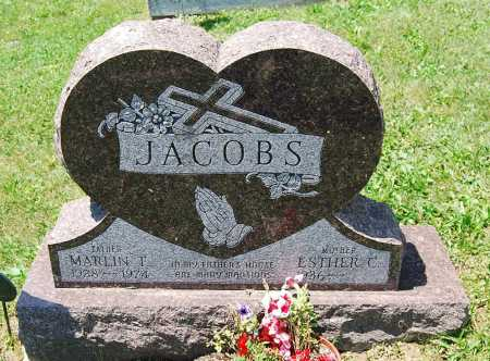 JACOBS, MARLIN T. - Juniata County, Pennsylvania | MARLIN T. JACOBS - Pennsylvania Gravestone Photos