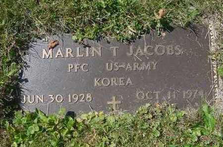 JACOBS, MARLIN T. - Juniata County, Pennsylvania | MARLIN T. JACOBS - Pennsylvania Gravestone Photos