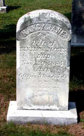 JACOBS, NANCY JANE - Juniata County, Pennsylvania | NANCY JANE JACOBS - Pennsylvania Gravestone Photos
