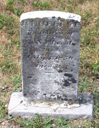JACOBS, REBECCA ELIZABETH - Juniata County, Pennsylvania | REBECCA ELIZABETH JACOBS - Pennsylvania Gravestone Photos