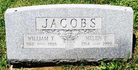 JACOBS, HELEN F. - Juniata County, Pennsylvania | HELEN F. JACOBS - Pennsylvania Gravestone Photos