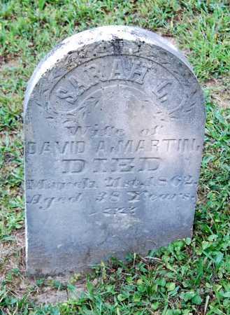 MARTIN, SARAH LOUISE - Juniata County, Pennsylvania | SARAH LOUISE MARTIN - Pennsylvania Gravestone Photos