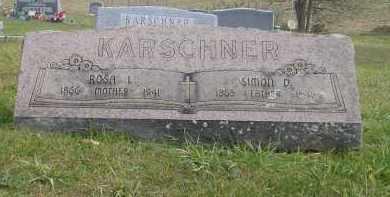 SINGER KARSCHNER, ROSA LINDA - Juniata County, Pennsylvania | ROSA LINDA SINGER KARSCHNER - Pennsylvania Gravestone Photos