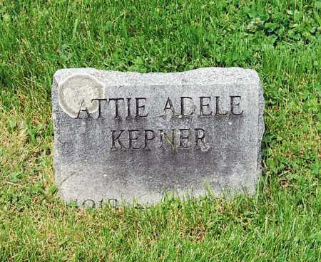 KEPNER, ATTIE ADELE - Juniata County, Pennsylvania | ATTIE ADELE KEPNER - Pennsylvania Gravestone Photos