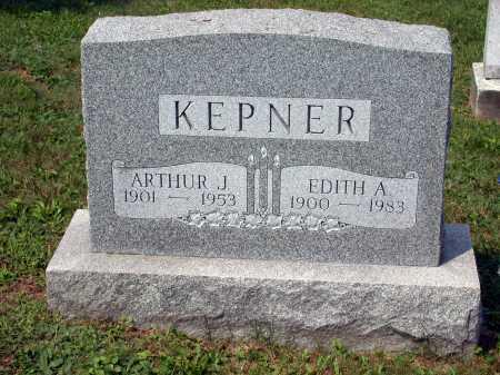 "KEPNER, ARTHUR ""DUTCH"" JOSEPH - Juniata County, Pennsylvania | ARTHUR ""DUTCH"" JOSEPH KEPNER - Pennsylvania Gravestone Photos"