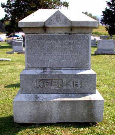 KEPNER, BENJAMIN D. - Juniata County, Pennsylvania | BENJAMIN D. KEPNER - Pennsylvania Gravestone Photos