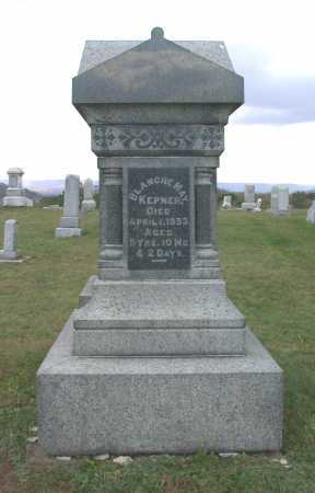 KEPNER, BLANCHE MAY - Juniata County, Pennsylvania | BLANCHE MAY KEPNER - Pennsylvania Gravestone Photos