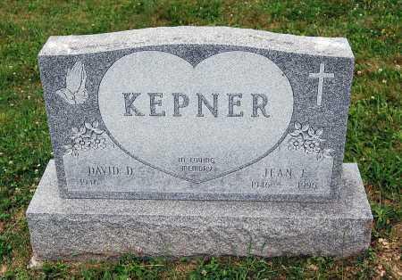 KEPNER, JEAN F. - Juniata County, Pennsylvania   JEAN F. KEPNER - Pennsylvania Gravestone Photos