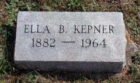 KEPNER, ELLA B. - Juniata County, Pennsylvania | ELLA B. KEPNER - Pennsylvania Gravestone Photos
