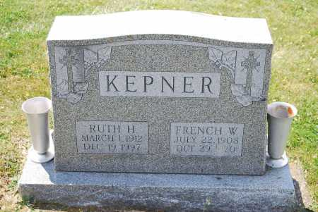 KEPNER, FRENCH WALTON - Juniata County, Pennsylvania | FRENCH WALTON KEPNER - Pennsylvania Gravestone Photos