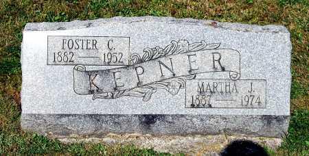 KEPNER, FOSTER CLEVELAND - Juniata County, Pennsylvania | FOSTER CLEVELAND KEPNER - Pennsylvania Gravestone Photos