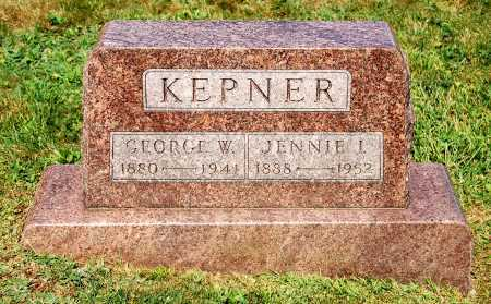 KEPNER, JENNIE I. - Juniata County, Pennsylvania | JENNIE I. KEPNER - Pennsylvania Gravestone Photos